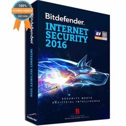Phần mềm diệt virus Bitdefender Internet Security 2016 - 1PC 1Year