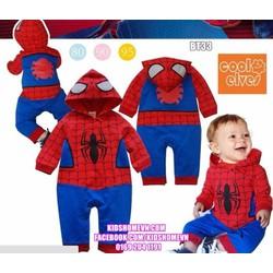 Bộ body liền Spider man BT33