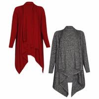 Bộ 2 Áo Khoác Mỏng Nhẹ Nữ Cardigan Vạt Dài Cánh Dơi Cao Cấp