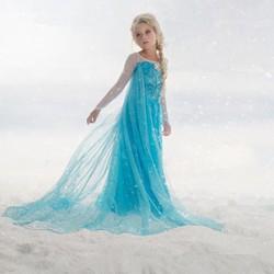 Váy Elsa và phụ kiện