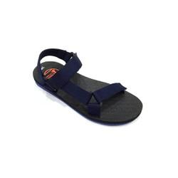 Dép sandal 2 quai ngang thời trang E283 Xanh