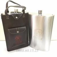 Bình Đựng Rượu Inox CCCP truyền thống 178oz 5L