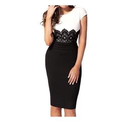 Đầm ôm phối ren sexy form chuẩn dáng đẹp