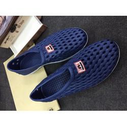Giày Lười Nhựa Đi Mưa Dành Cho Nam - Nữ