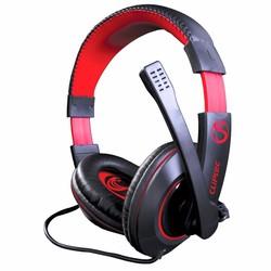 Tai nghe Gaming Cliptec Poison P8 C-Cobra BGH668 Đen đỏ