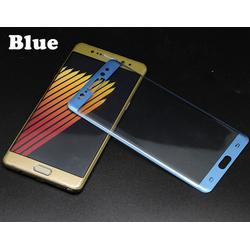 Kính cường lực samsung Note 7 Full màn hình BLUE