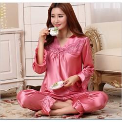 Bộ đồ ngủ nữ thời trang cao cấp 2016 - #598