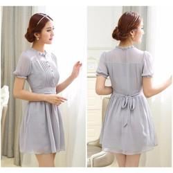 Đầm Voan Màu Sắc Nhẹ Nhàng - YW415