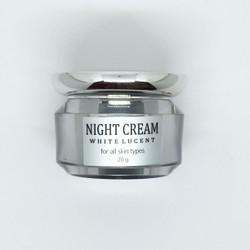Kem dưỡng trắng da vùng mặt ban đêm WHITE LUCENT NIGHT CREAM