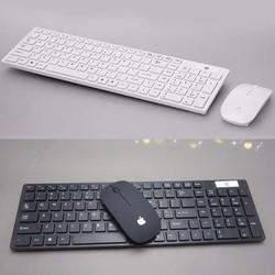 Bộ bàn phím và chuột không dây wireless