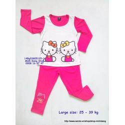 Bộ thun tay dài Hello Kitty xinh xắn
