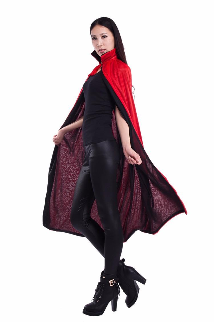 Áo Choàng Vampire Halloween Đen Queenie 5