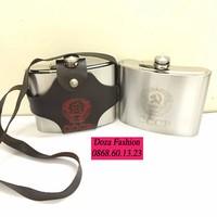 Bình Đựng Rượu Inox CCCP truyền thống 32oz 1L
