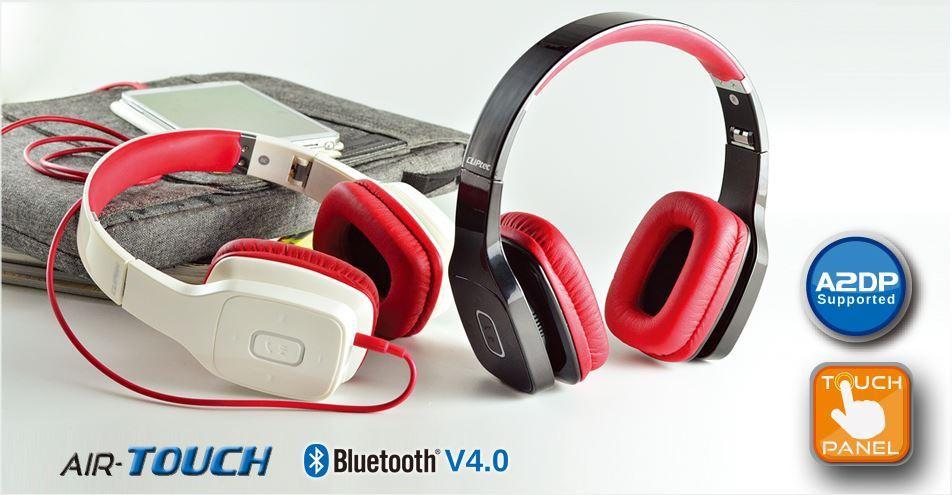 Tai nghe không dây Bluetooth Cliptec PBH406 Trắng 1