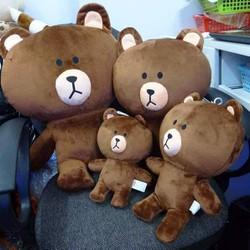 Gấu Brown nhồi bông size lớn 50cm