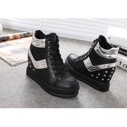 Giày Sneaker Nữ Độn Đế Cao Cổ