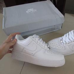 Giày thể thao Nike Air Force 1 Trắng size 37.5 hàng Rep Fullbox