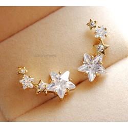 Bông tai ngôi sao đính đá