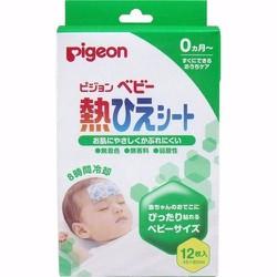 Miếng dán hạ sốt cho bé loại 12 miếng Pigeon