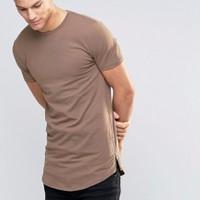 áo thun phối zip body unisex
