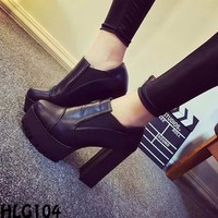 GIÀY BOOTS NỮ CAO CẤP _ HLG104