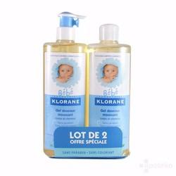 Bộ sản phẩm quà tặng dầu tắm, gội Klorane ,Pháp