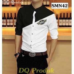 DQ Produk - Sơ Mi Nam Hàn Quốc Logo US ARMY
