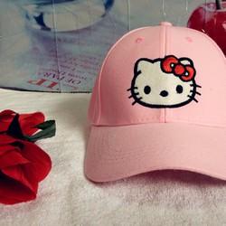 Mũ kết - Nón kết Hello Kitty