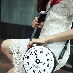 túi xách nữ hình đồng hồ dễ thương