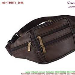 Túi đeo bụng phối khóa kéo đơn giản tiện dụng TDBT6