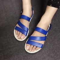 Giày sandals nhựa đi mưa 3 quai SDQN53