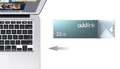USB 3.0 Addlink U10 64GB Đen 2