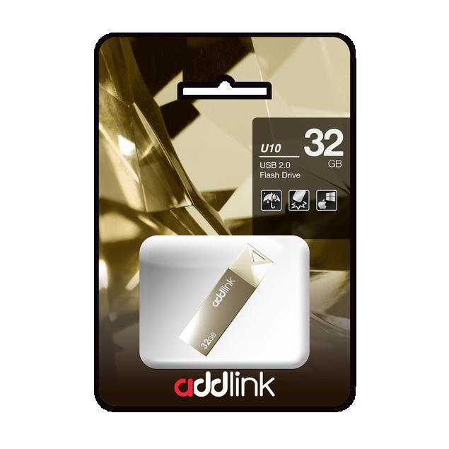 USB 3.0 Addlink U10 64GB Đen 5