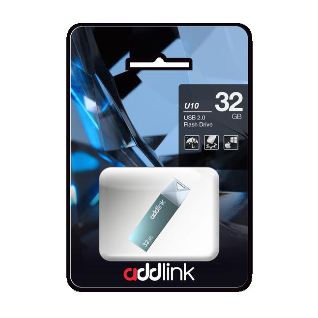 USB 3.0 Addlink U10 64GB Đen 4