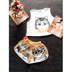 Set bộ hình mèo dễ thương