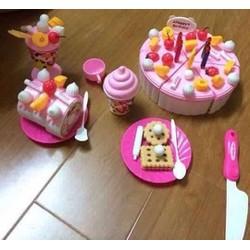 Đồ chơi xếp hình bánh sinh nhật
