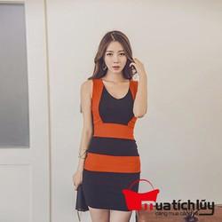Đầm ôm body 2 màu