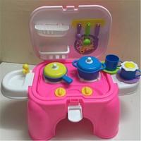 Bộ đồ chơi nấu ăn hình ghế độc đáo cho bé