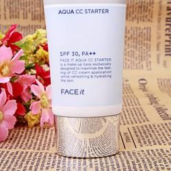 Kem Lót Trang điểm Dưỡng Da Face It Aqua CC Starter