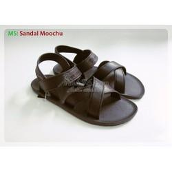 Giày nhựa Thái Lan Sandal Moochu - Màu đen
