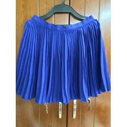 váy xanh coban