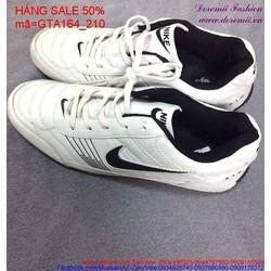 Giảm giá  giày thể thao nam màu trắng cá tính GTA164