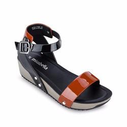 Giày Sandals Đế Xuồng Quai Ngang 681