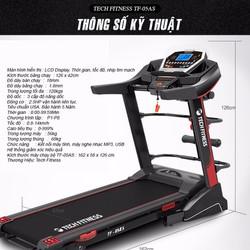 Máy chạy bộ gia đình Tech Fitness TF-05AS