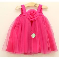 Đầm công chúa hoa hồng