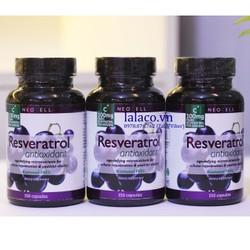 Neocell Resveratrol Antioxidant  Hỗ Trợ Tim Mạch Chống Lão Hóa