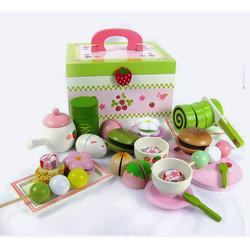 Bộ tiệc trà xanh Mother Garden