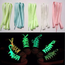 Bộ 5 đôi dây giày dạ quang phát sáng trong đêm đủ màu