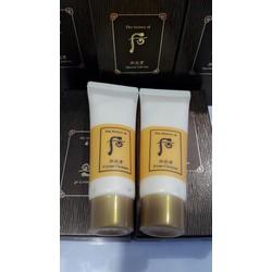 Set sữa rữa mặt và tẩy trang hoàng cung vàng hàng công ty