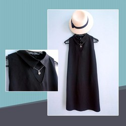 Đầm thiết kế - Đầm suông cổ peter pan